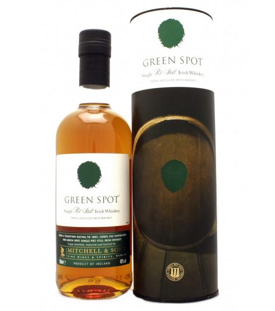 Green Spot Single Pot Still Irish Triple Distilled Whiskey Etui