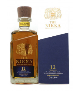 Whisky du Japon The Nikka 12 ans Premium Blend avec son étui