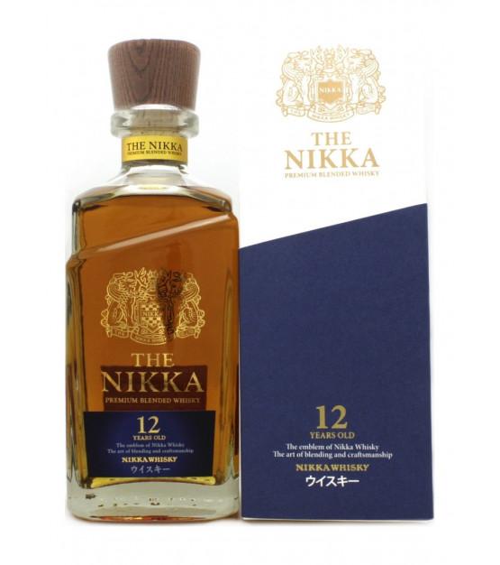 Whisky du Japon The Nikka 12 ans Premium Blend avec son étui