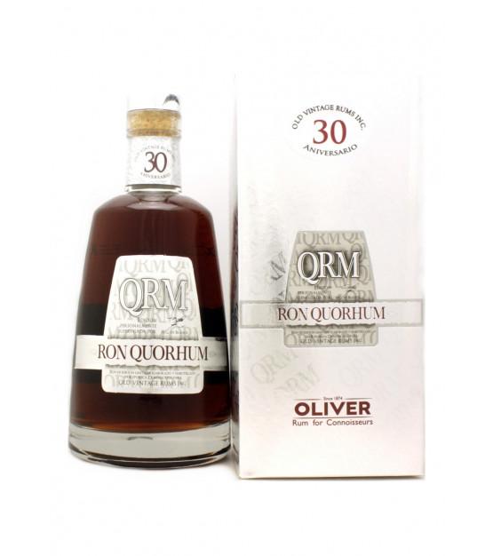 Quorhum Ron QRM 30 ans Aniversario avec étui