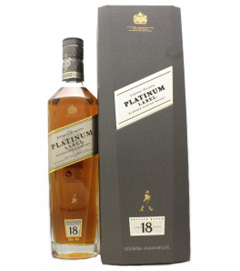 Johnnie Walker Platinum Label 18 ans Blended Whisky avec son étui