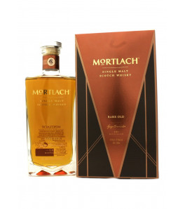 Mortlach Rare Old Single Malt Speyside Whisky avec son étui