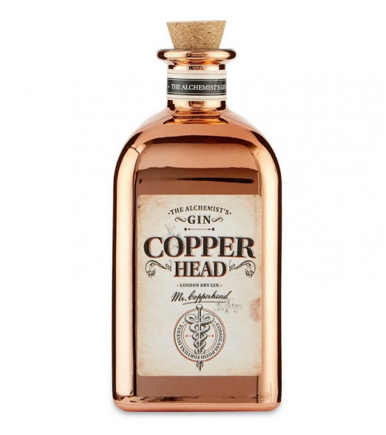Copperhead London Dry Gin - The Alchemist's Gin