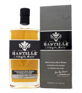 Bastille 1789 French Single Malt Whisky avec son étui
