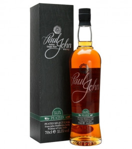 Paul John Peated Select Cask Indian Single Malt avec son étui