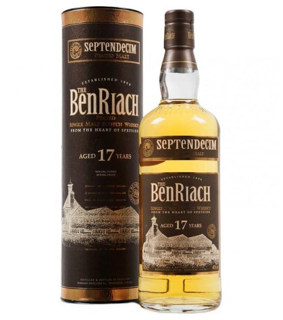 Benriach Septendecim 17 ans Peated Single Malt avec étui