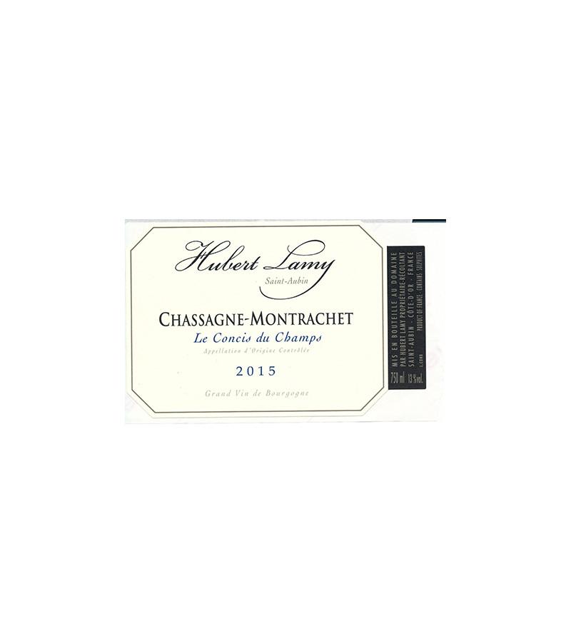 Vin Blanc De Bourgogne Chassagne Montrachet Domaine Hubert Lamy Les