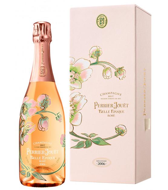 Perrier-Jouët Belle Epoque 2006 coffret champagne rosé