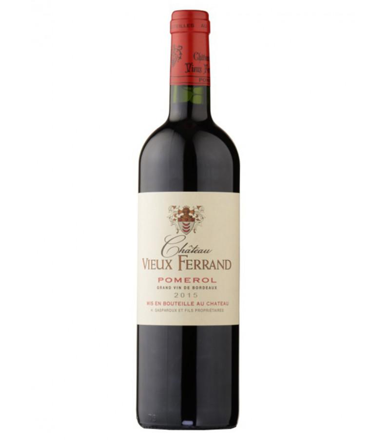 ch teau vieux ferrand 2015 pomerol vin rouge de bordeaux. Black Bedroom Furniture Sets. Home Design Ideas