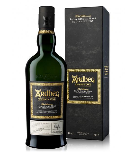 Ardbeg 21 ans Islay Single Malt Whisky