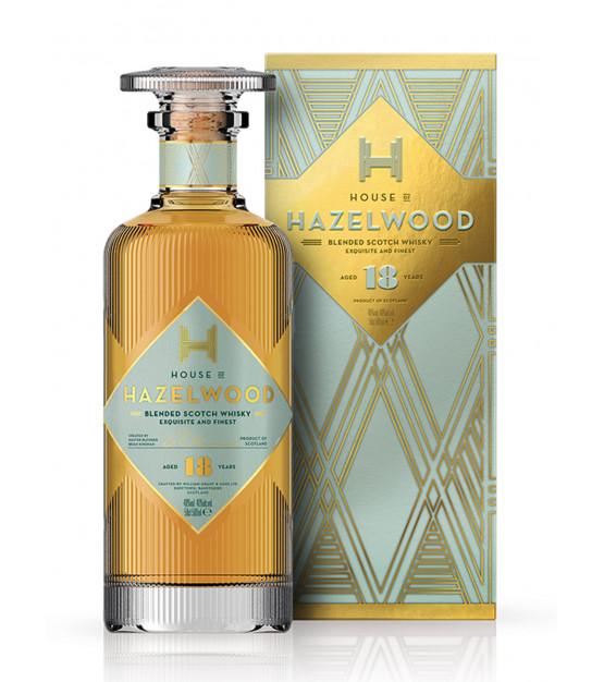 House of Hazelwood Blended Whisky 18 ans