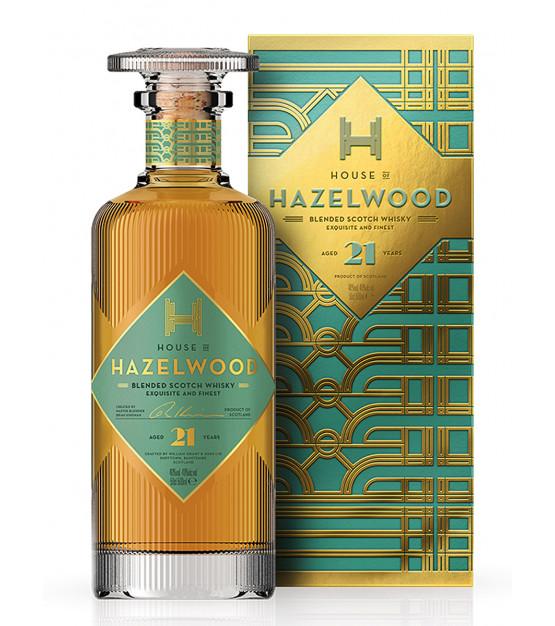 House of Hazelwood Blended Whisky 21 ans