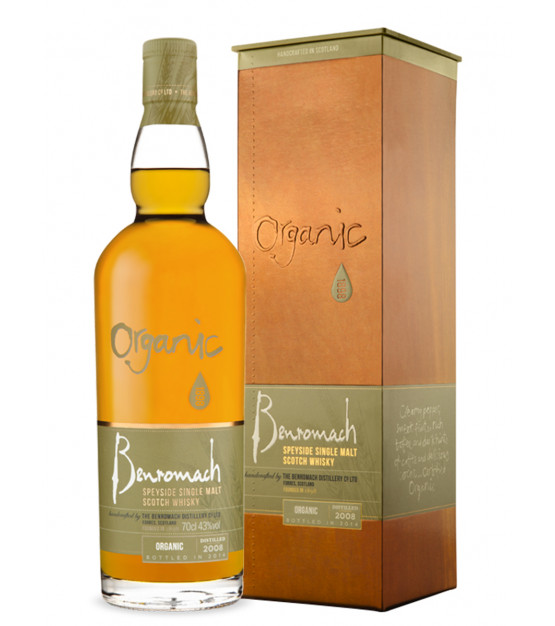 Benromach Organic Single Malt Whisky Speyside