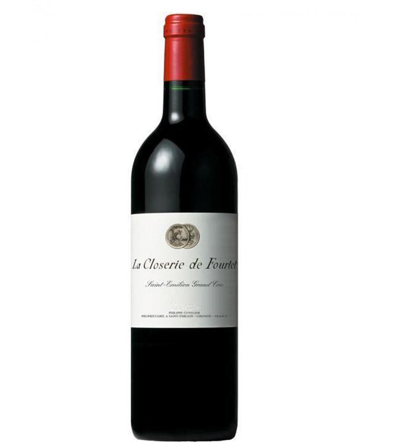 vin rouge saint emilion la closerie de fourtet. Black Bedroom Furniture Sets. Home Design Ideas