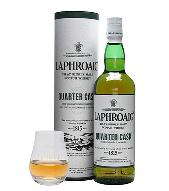 Coffret Whisky Avec Verre : un coffret de whisky laphroaig quarter cask et son verre gift box ~ Teatrodelosmanantiales.com Idées de Décoration