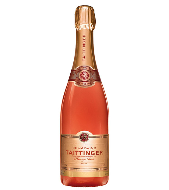 Taittinger rosé Prestige Champagne