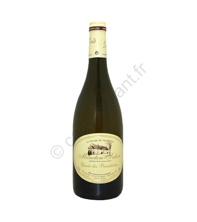 Vin blanc prieur de saint c ols domaine jacolin menetou salon for Vin menetou salon blanc