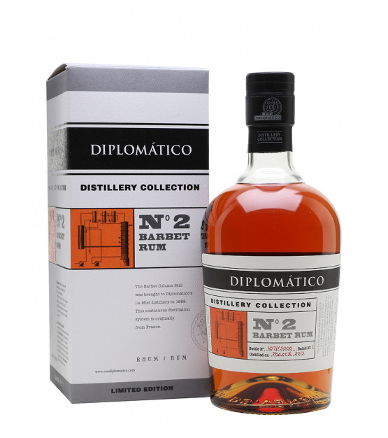 Diplomatico Distillery Collection Single Barbet