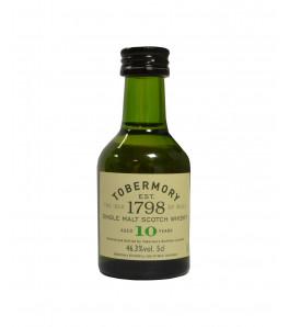 Mignonnette Tobermory 10 ans Whisky Single Malt Mull 5 cl