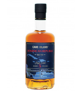 Cane Island republique dominicaine 5 ans Single Estate Rhum