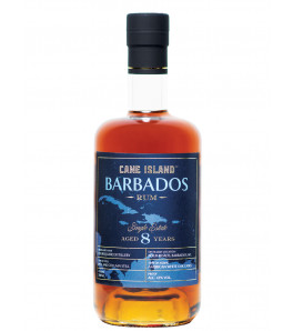 Cane Island barbade 8 ans Single Estate Rhum