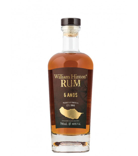 William Hinton 6 ans Rhum agricole de Madère