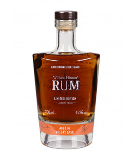 William Hinton 6 ans whisky cask Rhum agricole de Madère
