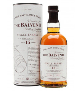 THE BALVENIE 15 ANS SINGLE BARREL SHERRY CASK