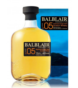 Balblair vintage 2005 single malt whisky