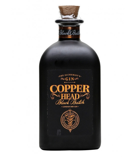 Copperhead London Dry Gin - Black Batch