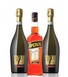 pack cocktail spritz avec prosecco Fantinel et Aperol