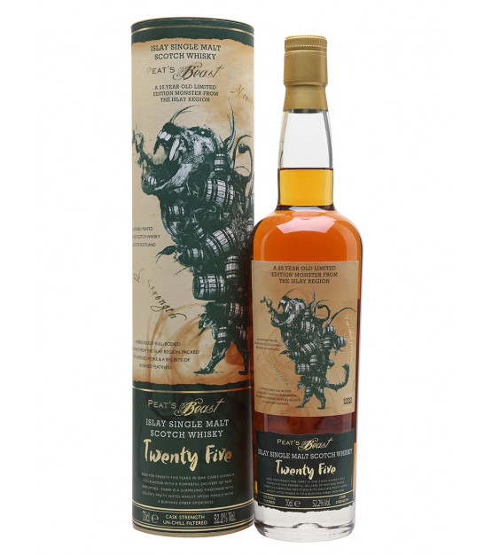 peat's beast 25yo islay single malt