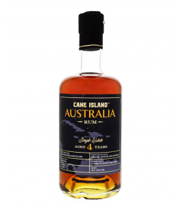 Cane Island australia 4 ans single estate rum
