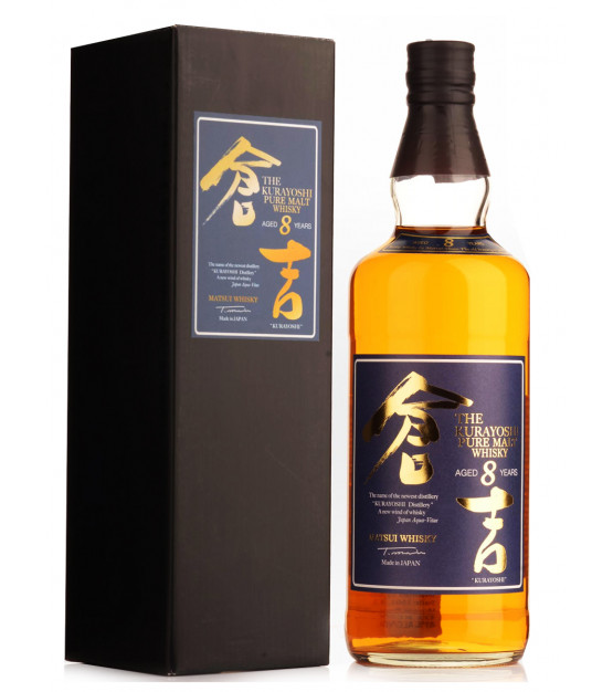 the kurayoshi 8 ans pure malt whisky japonais