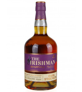 the irishman cask strength whiskey irlandais
