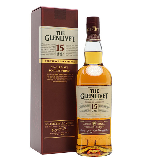 the glenlivet 15 ans whisky single malt