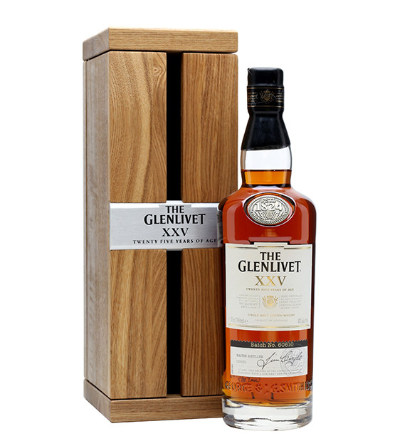 the glenlivet 25 ans whisky