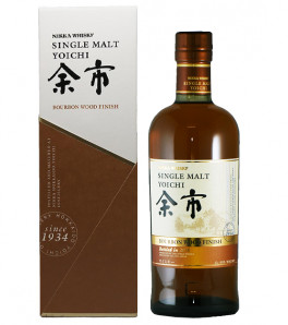 Yoichi bourbon finish whisky japonais