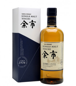 Yoichi Single Malt Nikka Japanese Whisky Etui