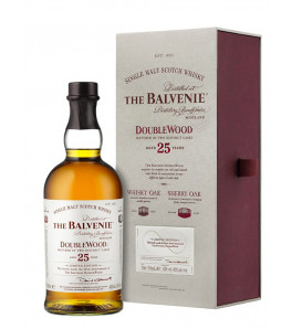 the balvenie 25 ans doublewood single malt scotch whisky
