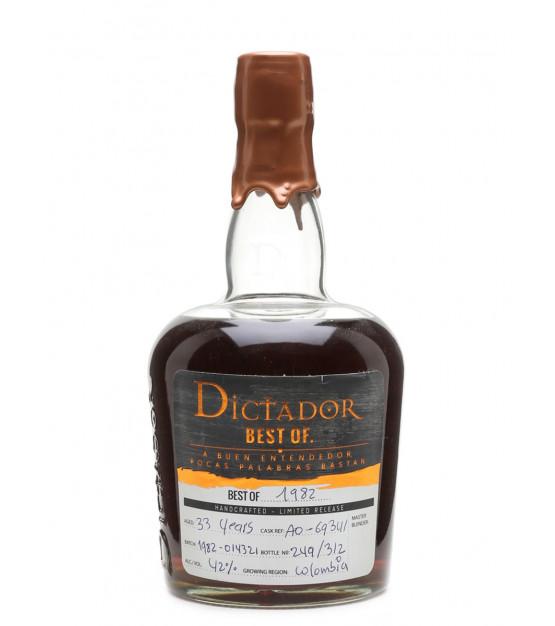 dictador best of 1982 rhum