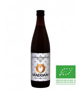 brasserie de chablis chaddam clovis et francois biere blonde biologique triple