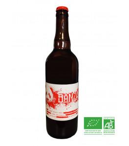 brasserie les acolytes biere blanche biologique banzai au gingembre 75 cl