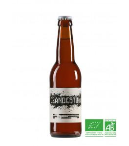 brasserie les acolytes biere blonde biologique clandestina