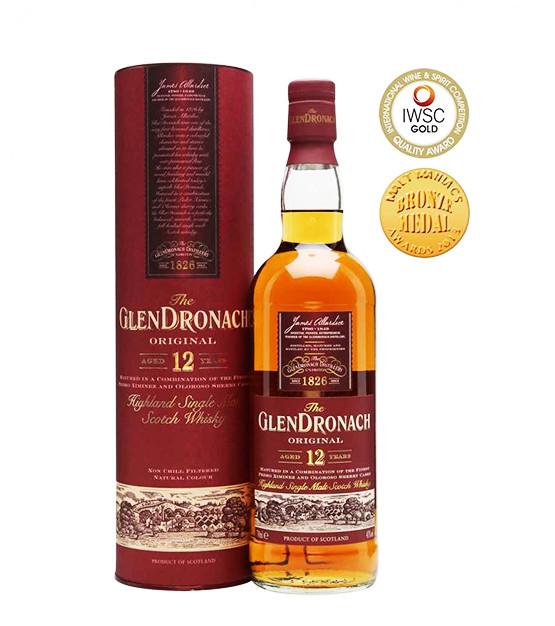 Glendronach 12 ans Original whisky single malt