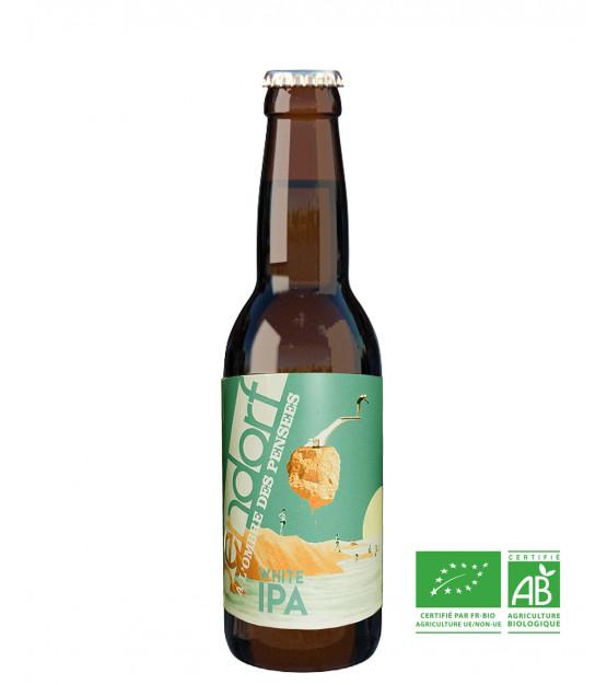 Brasserie Bendorf biere bio white ipa a l'ombre des pensees