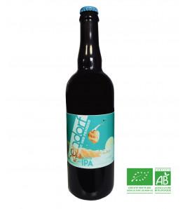 Brasserie Bendorf biere bio white ipa a l'ombre des pensees au format 75 cl