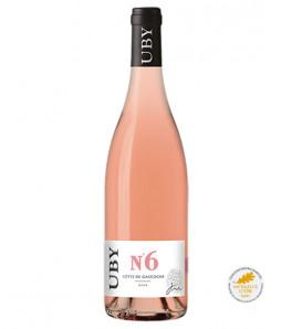 Domaine Uby Rosé N°6 Côtes de Gascogne
