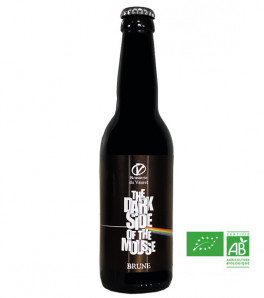biere brune bio brasserie vauret the dark side of the mousse
