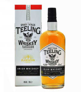 teeling single malt irish whisky plantation finish